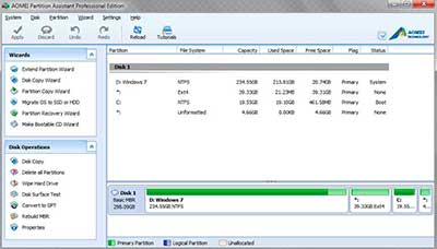Keygen AOMEI Partition Assistant 6.6 Pro