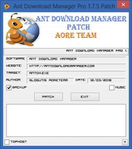 Ant Download Manager patch